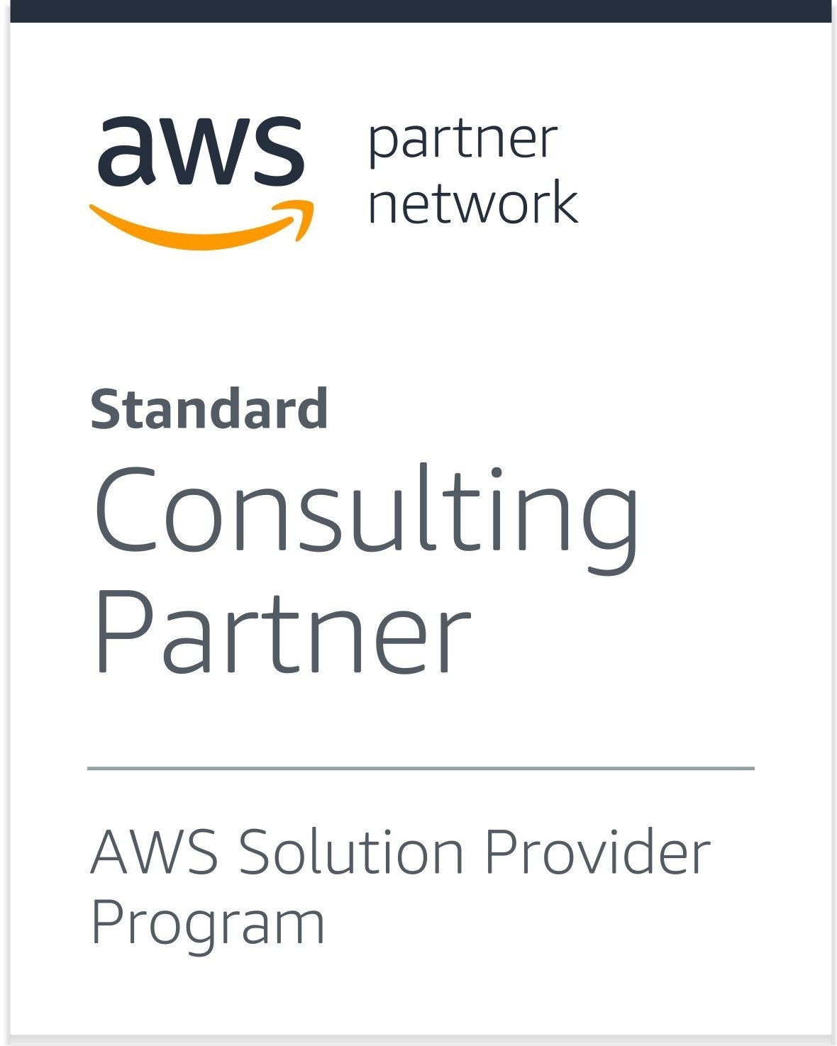 AWS Solutions Provider Partner badge cropped