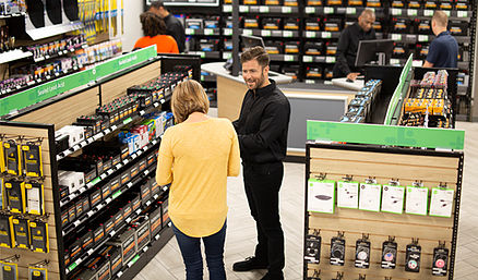 Retail technology at Batteries Plus Bulbs