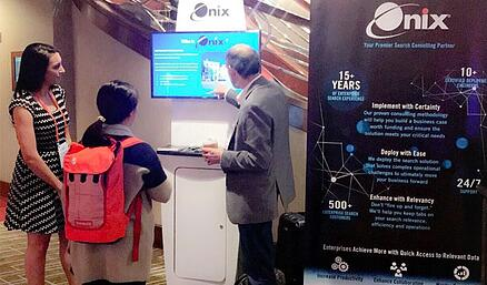 Coveo Impact Booth