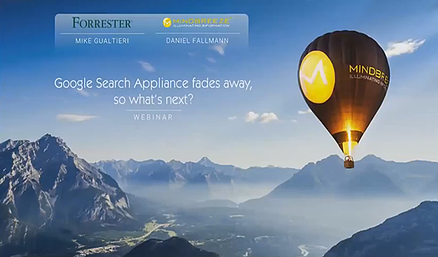 Webinar: Google Search Appliance fades away, so what's next?