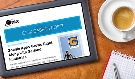 Case In Point Newsletter on Device
