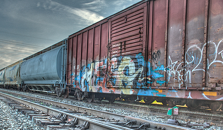 Kubernetes nodes and clusters are like train cars that work together.