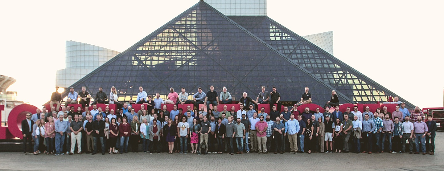 Onix Employees at Rock Hall in Cleveland Ohio
