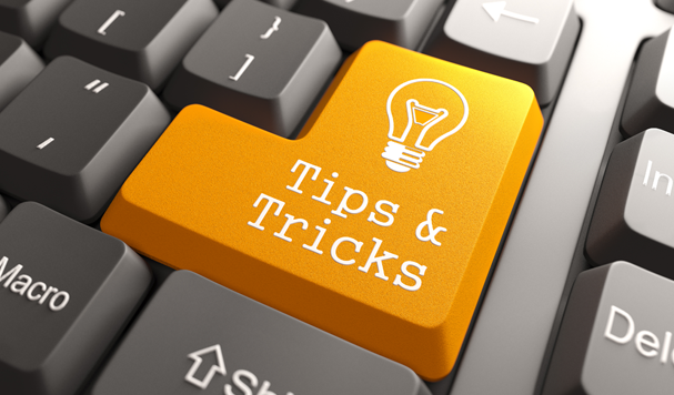 Tips and Tricks Computer Button
