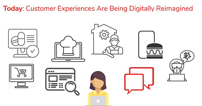 customer experiences are reimagined with a chatbot