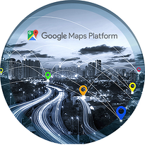 color location icons maps with google logo