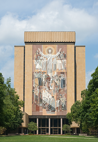 Notre Dame Hesburgh Library