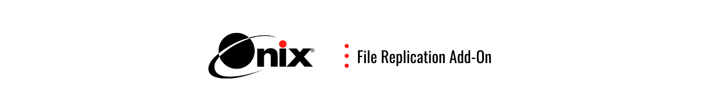 File replication add-on banner