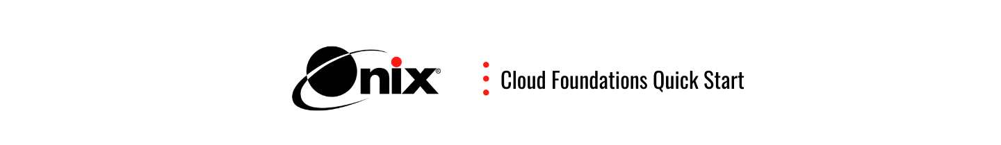 cloud foundations quick start banner